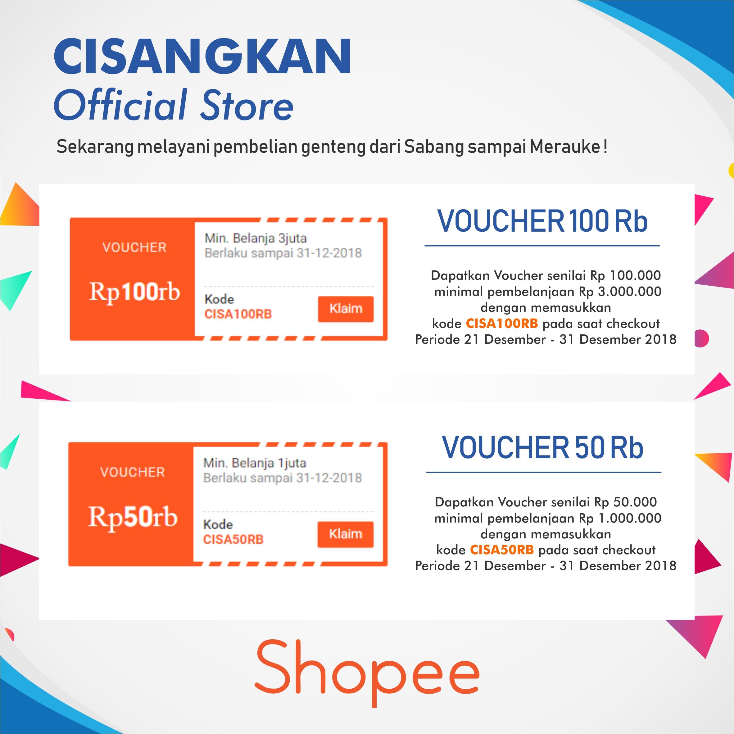 Banner Promo Online Akhir Tahun Shopee